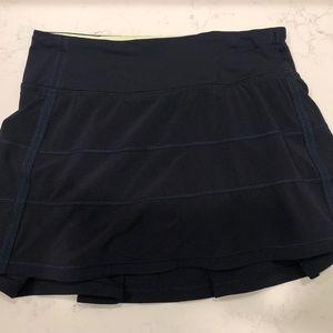 Navy Lululemon skirt
